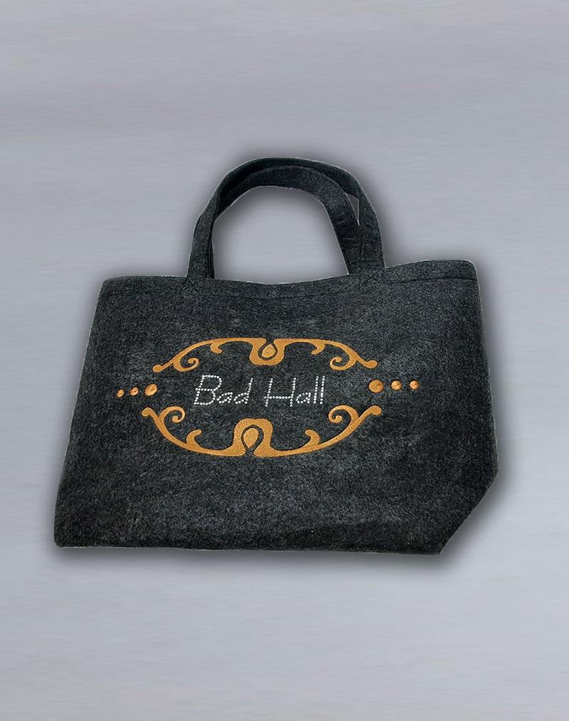 Referenzen - Tasche mit Flock für Bad Hall