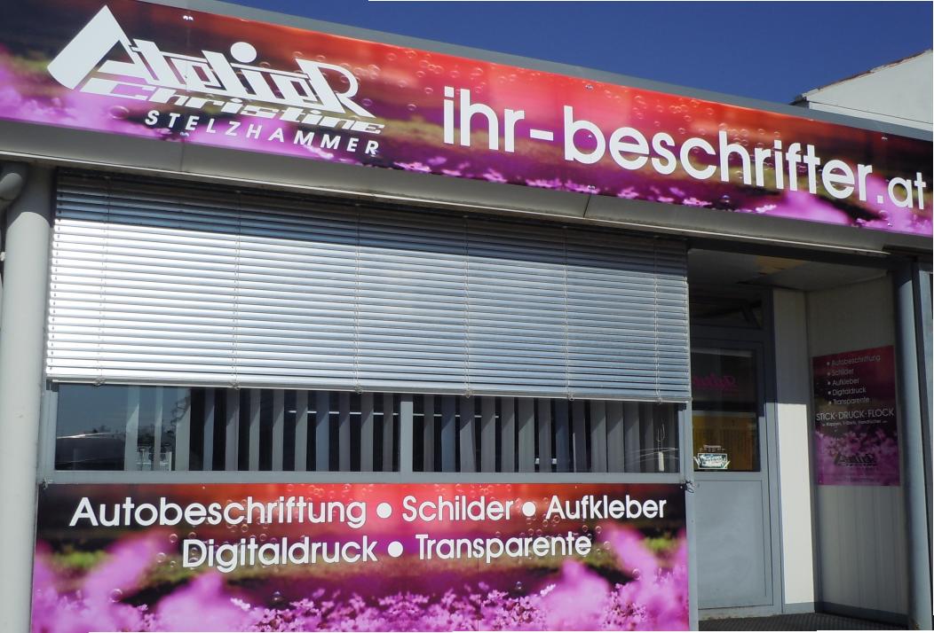 Atelier Christine Stelzhammer in Bad Hall - ihr-beschrifter.at